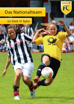 Frauen-Fussball Post